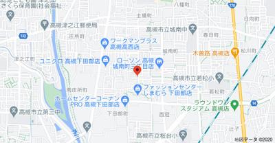 【地図】平井ハイツ (株)Roots