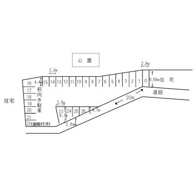 【区画図】丸澤ガレージ赤羽台