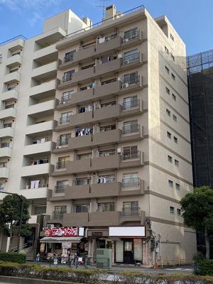 【外観】恵進マンション 9階 リ ノベーション済 家具 エアコン付