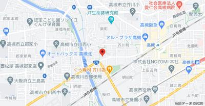 【地図】藤原マンション㈱Roots