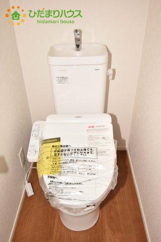 【トイレ】見沼区東大宮 第3 新築一戸建て ファーストタウン 01