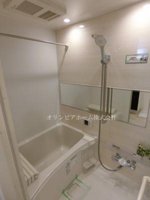 【浴室】ニュー松が谷マンション 5階 リ ノベーション済 エアコン 家具付