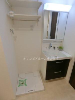 【独立洗面台】ニュー松が谷マンション 5階 リ ノベーション済 エアコン 家具付