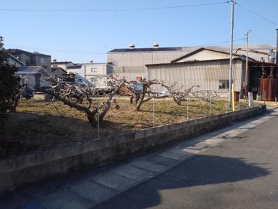 【外観】山波町 2区画分譲地