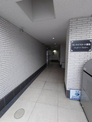 【エントランス】サンライフコート都島