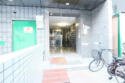 【エントランス】新大阪ホワイティ土井マンション