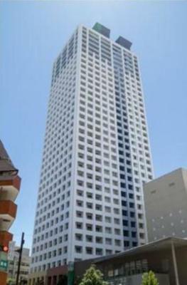 練馬区役所とスカイウェイで連結したタワーマンション