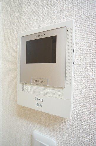 TVモニタ-付インタ-フォン