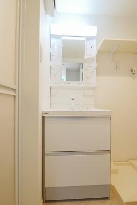 ハーモニーテラス富士見台の独立洗面台