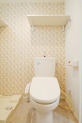ハーモニーテラス富士見台のトイレ