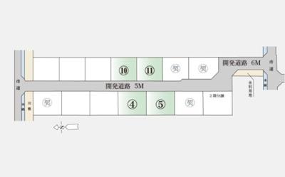 【区画図】倉敷市玉島乙島(8期)分譲地 11号地