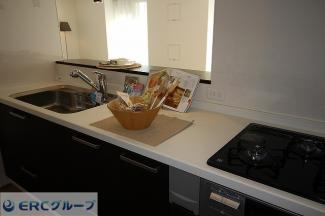 広いスペースでお料理ができます。