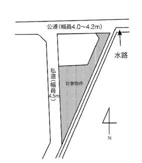 【土地図】高崎市吉井町長根 売地