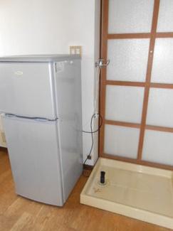 冷蔵庫付きです!