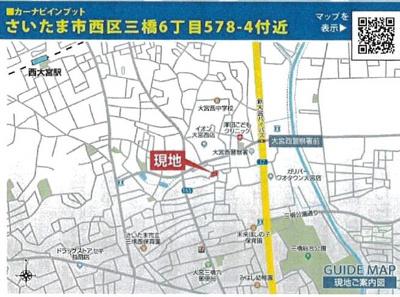 【地図】全7棟