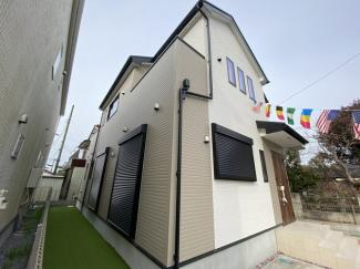 新京成線「高根公団」駅徒歩13分の全7棟の新築一戸建てです。