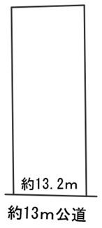 【区画図】56043 山県市高木土地