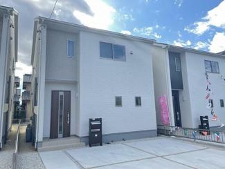 大垣市河間町 新築建売 残り1棟 南側にプライベートなお庭スペースあります 駐車場3台 耐震等級3