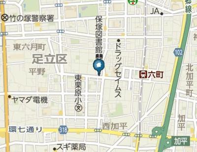 【地図】スコール