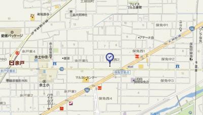 【地図】プレアール保免西