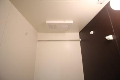 浴室乾燥機付き♪雨の日でも洗濯ものが乾かせます♪