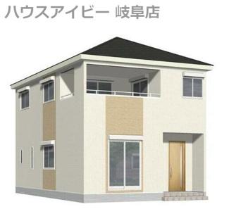 北方町加茂 新築建売全3棟 2月完成予定 インナーバルコニーのついたお家♪お車スペース4台可能!