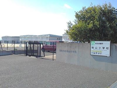 市立桜山小学校まで750m