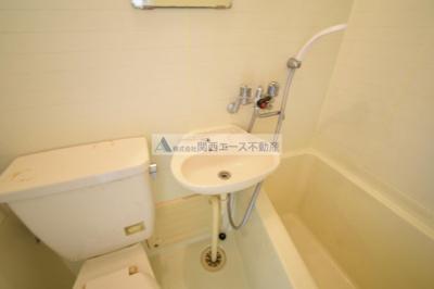【浴室】グロースハイツ菱屋西
