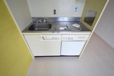 【キッチン】グロースハイツ菱屋西