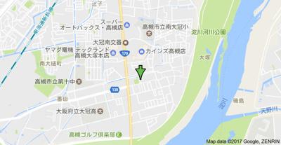 【地図】大塚チェリーハイツエイト (株)Roots