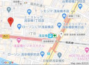 【地図】マルメゾン浅草橋