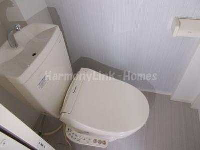抜弁天フラットのシンプルで使いやすいトイレです★