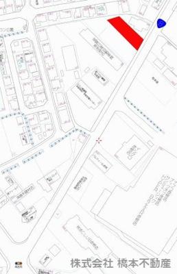 【地図】高宮町売地
