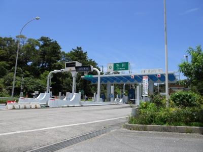 沖縄自動車道 石川ICまで1,800m