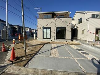 新京成線「滝不動」駅徒歩21分「三咲」駅徒歩22分の全4棟の新築一戸建てです。