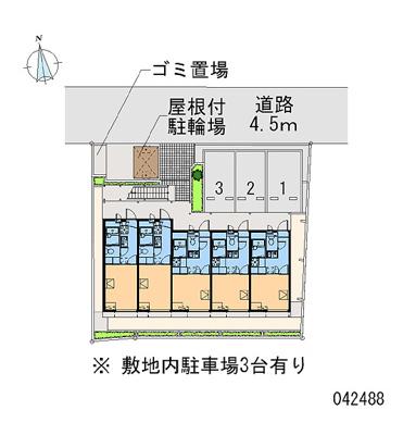 【地図】アズール