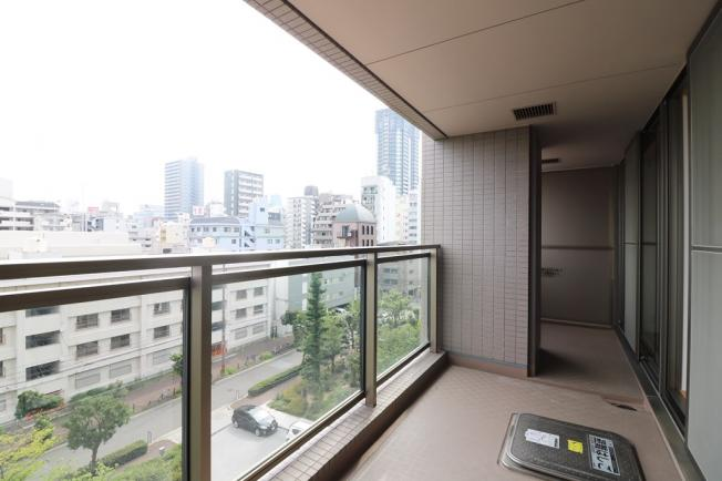 【バルコニー】OAPレジデンスタワー西館 505号室