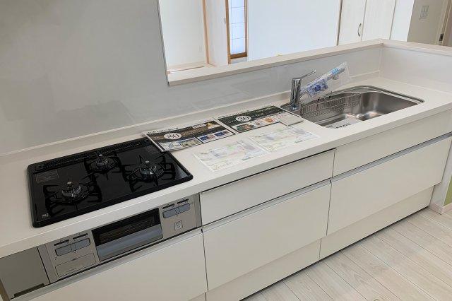 作業場所もしっかり確保された、キッチンなら料理のやる気も120%UP!