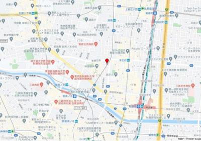 【地図】第2電波ビル