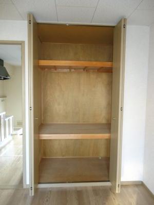 洋室8帖の収納 ※写真はイメージです