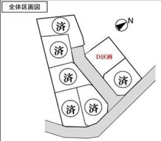 【区画図】横浜市鶴見区馬場2丁目 売地