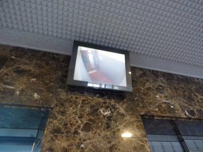 防犯カメラの映像(エレベーター内)