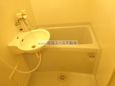 【浴室】レオパレスサン・ビレッジⅠ
