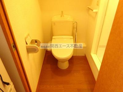 【トイレ】レオパレスサン・ビレッジⅠ