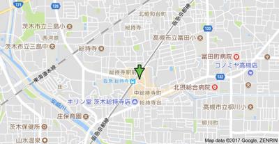 【地図】K'SコートⅡ