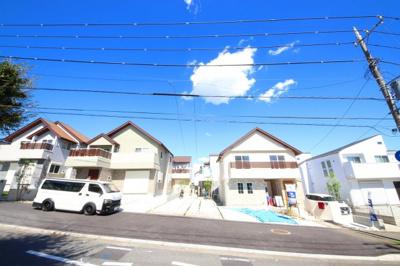 【外観】JR南武線「稲田堤」駅 新築一戸建 C号棟