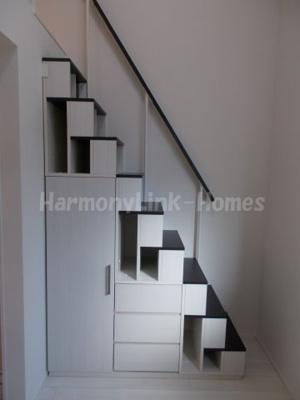 インペリアル・スイートの収納階段