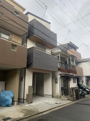 【外観】上野芝向ヶ丘2丁 新築戸建て