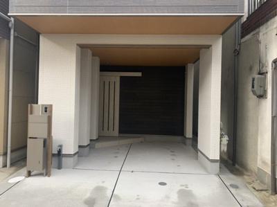 【駐車場】上野芝向ヶ丘2丁 新築戸建て