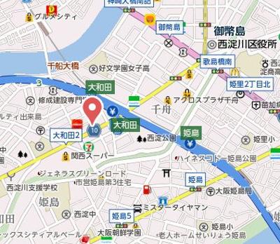 【地図】プレサンス千舟NEO'STY